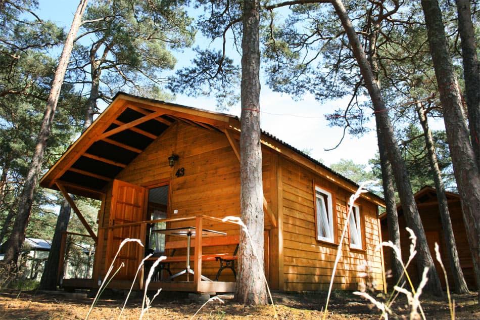 Domek drewniany Befared Rowy 43
